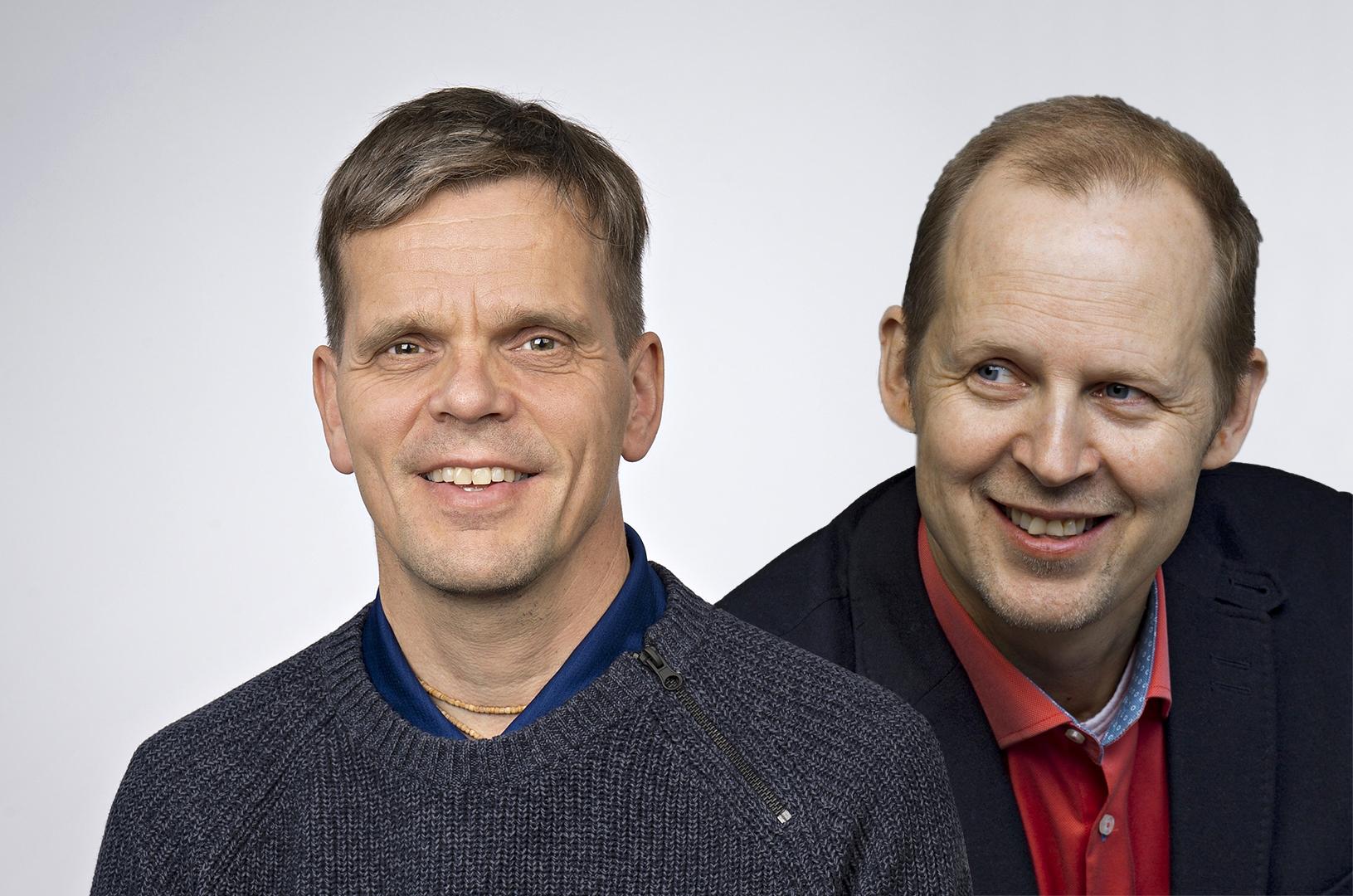 Juha Siira ja Mikael Saarinen