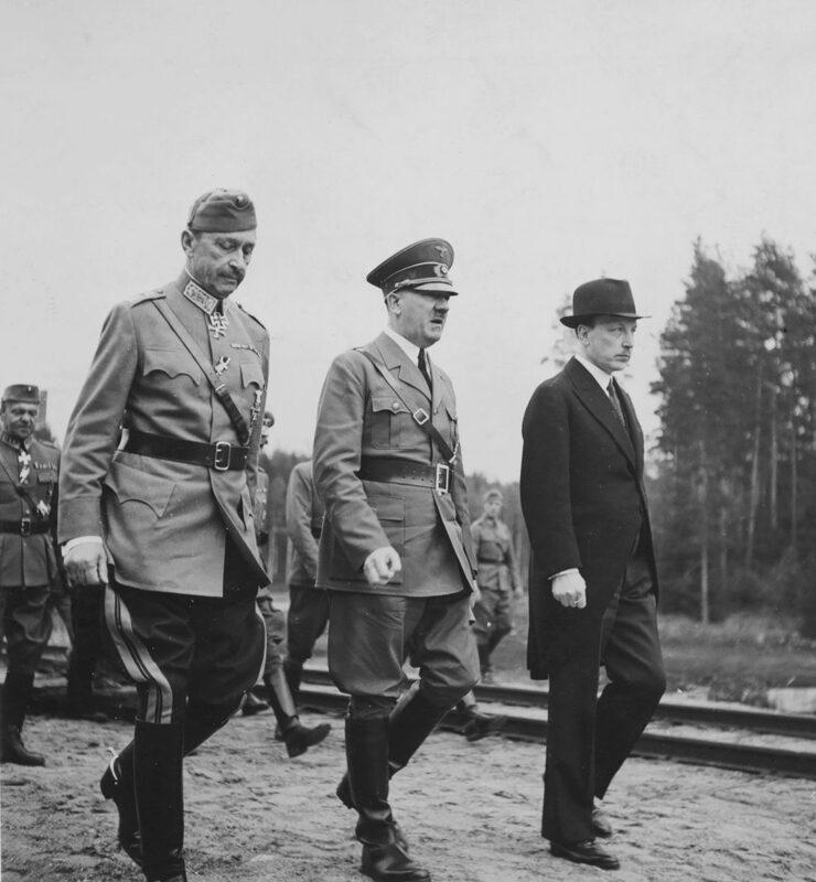 Mannerheim, Hitler ja Ryti