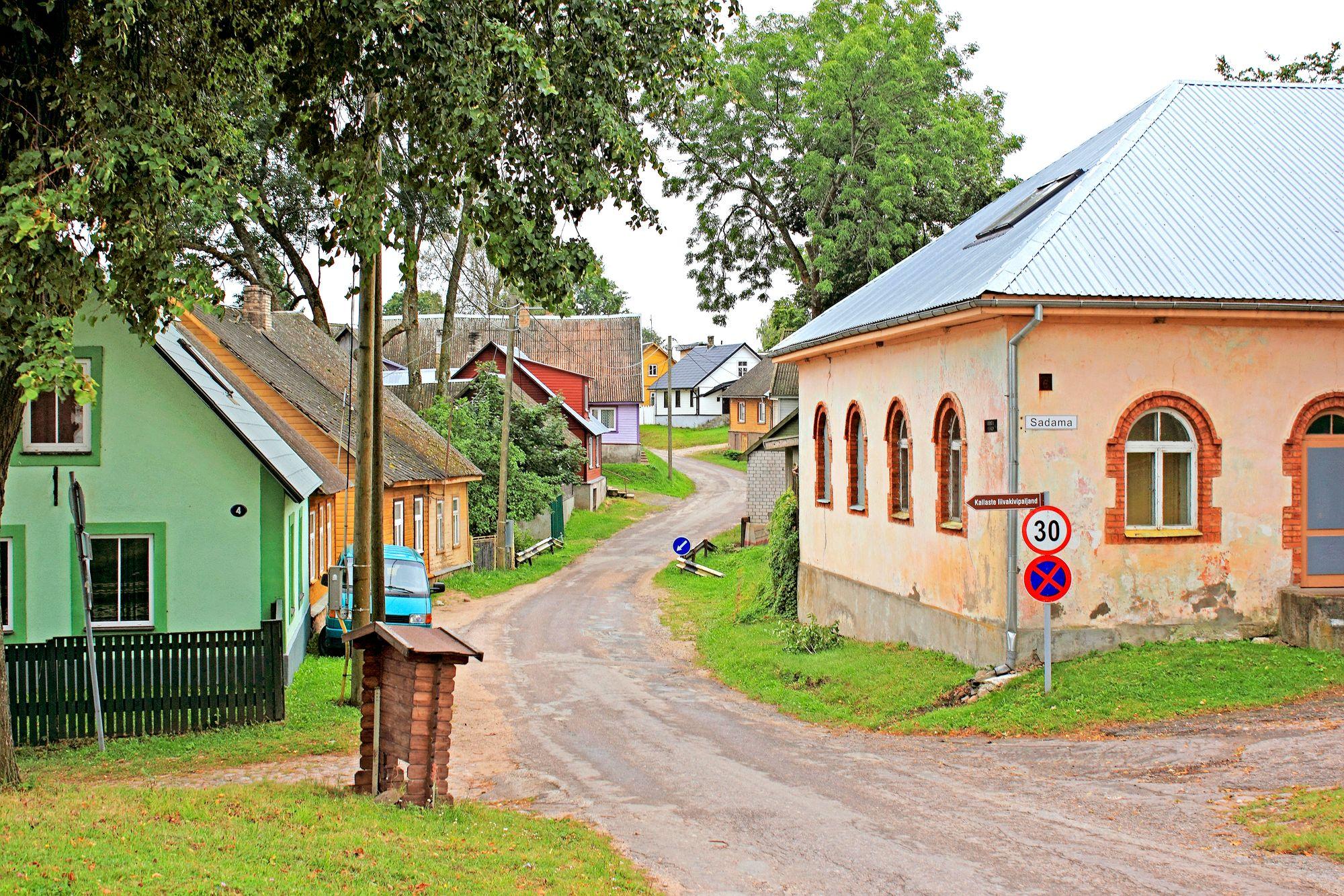 Peipsijärven alueella asuu yhä vanhauskoisia ortodokseja, joilla on omat talonsa, kirkkonsa ja tapansa. © istock