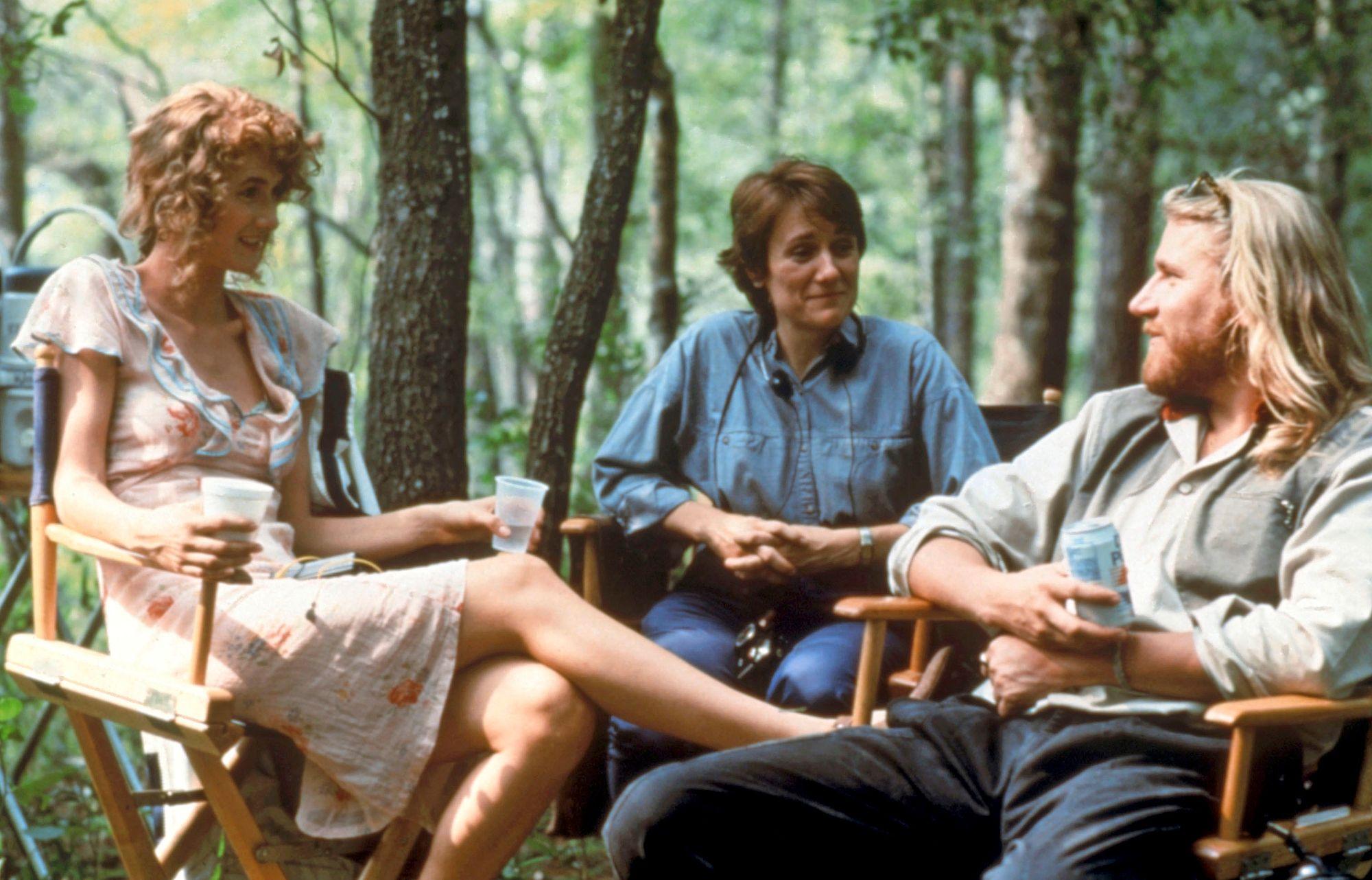 Harlinin vuonna 1991 tuottama Rambling Rose voitti parhaan elokuvan palkinnon Film Independent Spirit Awards -gaalassa. Silloinen naisystävä Laura Dern sai Oscar-ehdokkuuden parhaasta naispääosasta. Keskellä ohjaaja Martha Coolidge. © New Line Cinema / Courtesy Everett Collect / AOP