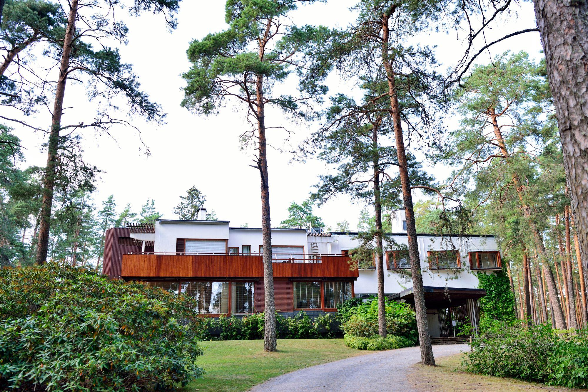 Alvar Aallon toimiston suunnittelema Villa Mairea valmistui elokuussa 1939, juuri ennen talvisotaa. © Pekka Numminen