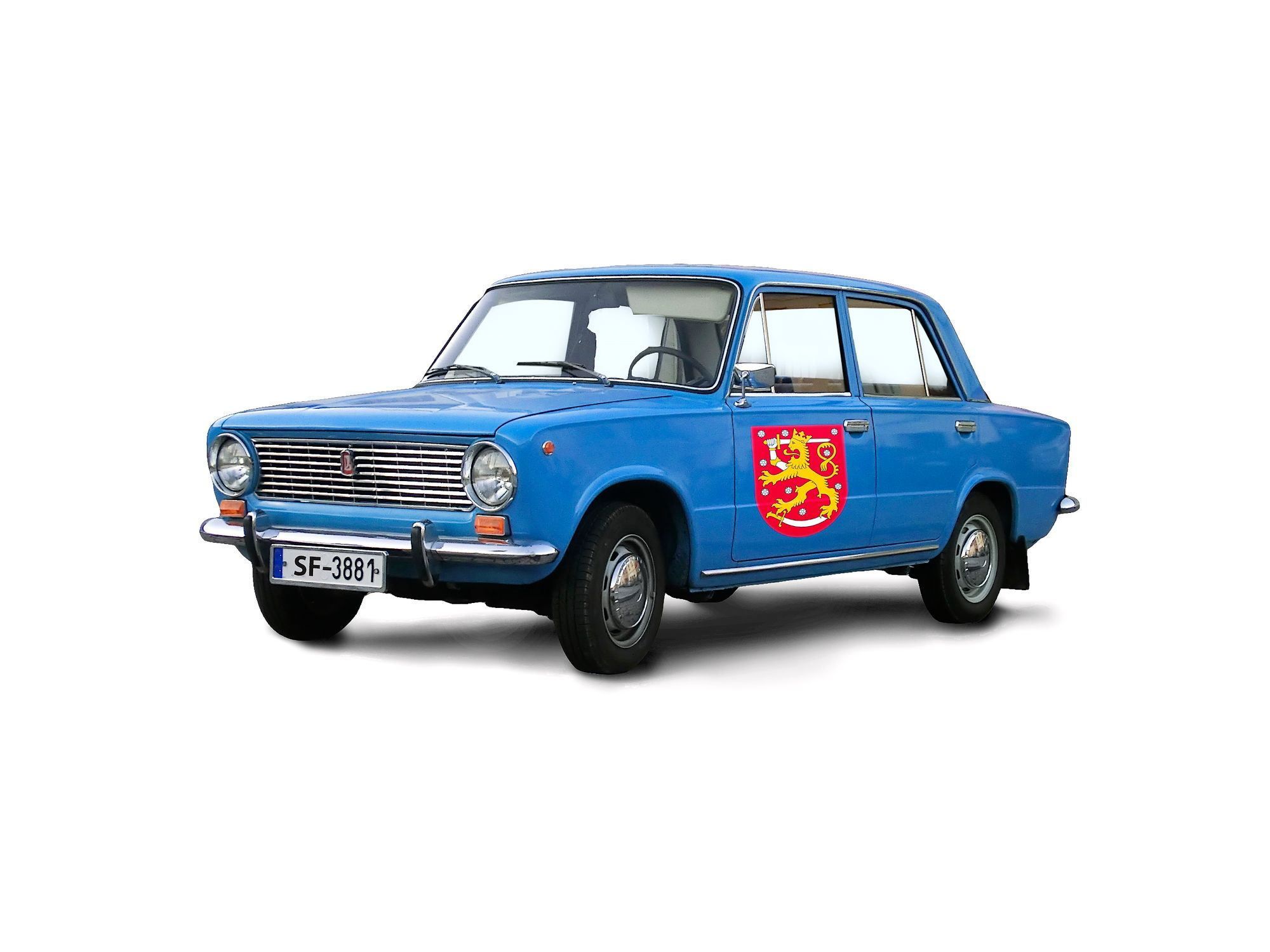 Suomalaista säästäväisyyttä edustaa hyvin Kansallisarkiston tapa: sen johtoa on toisinaan kyyditetty työtehtäviinsä arkiston pakettiautolla. © Tommi Tuomi