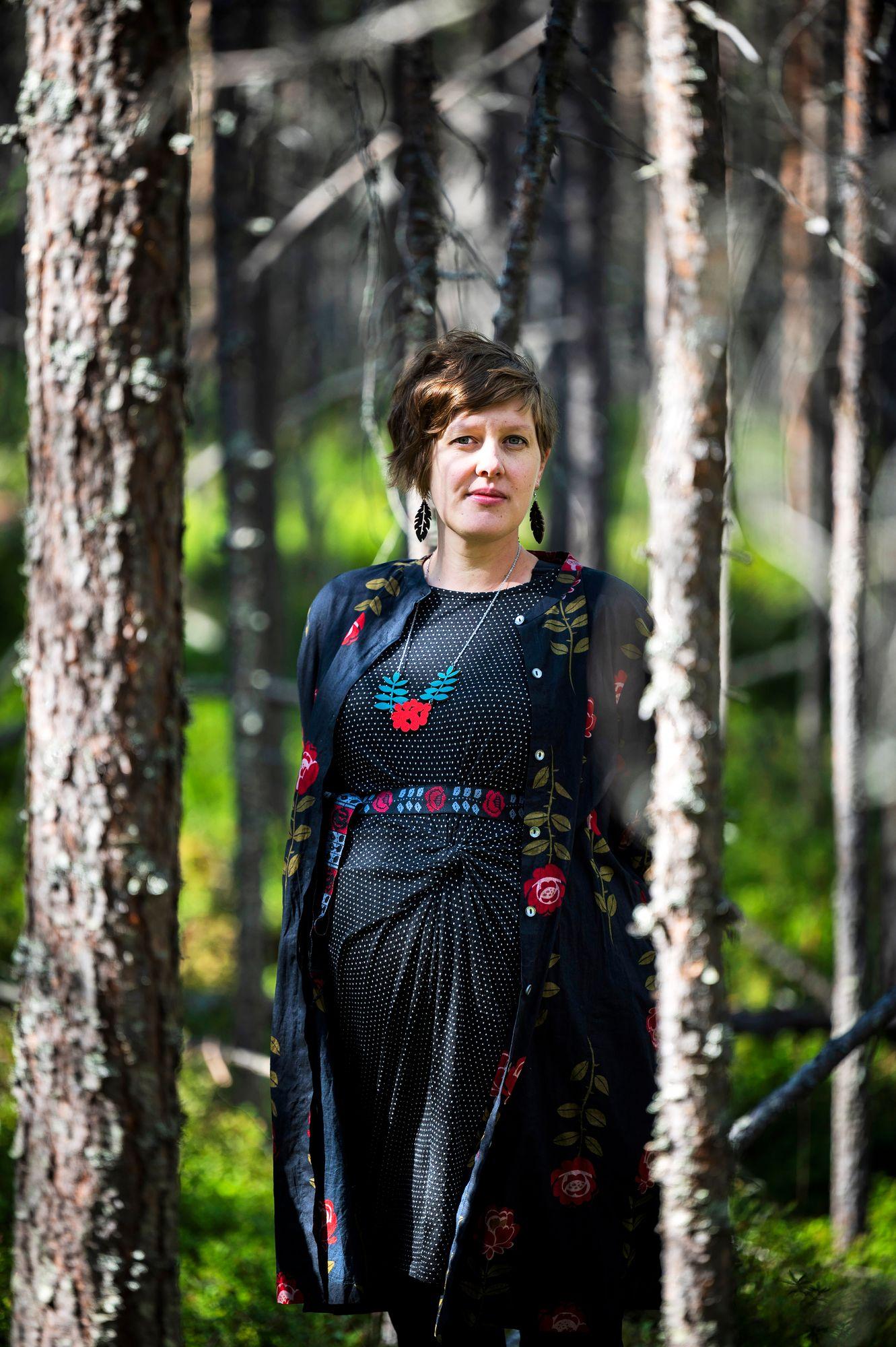 Kirjailija Katja Kärki. © Jouni Porsanger