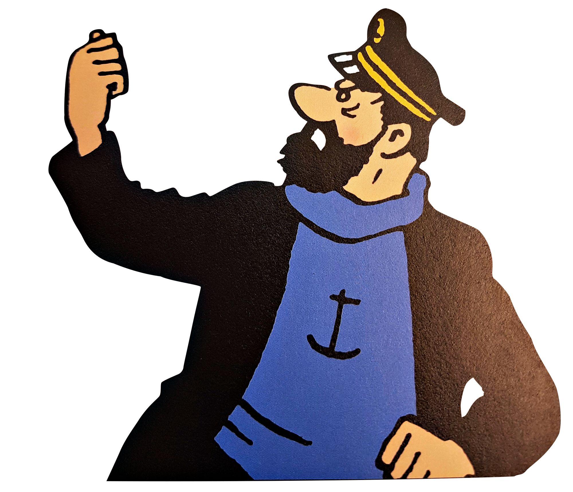 Kapteeni Haddock © OM-Arkisto