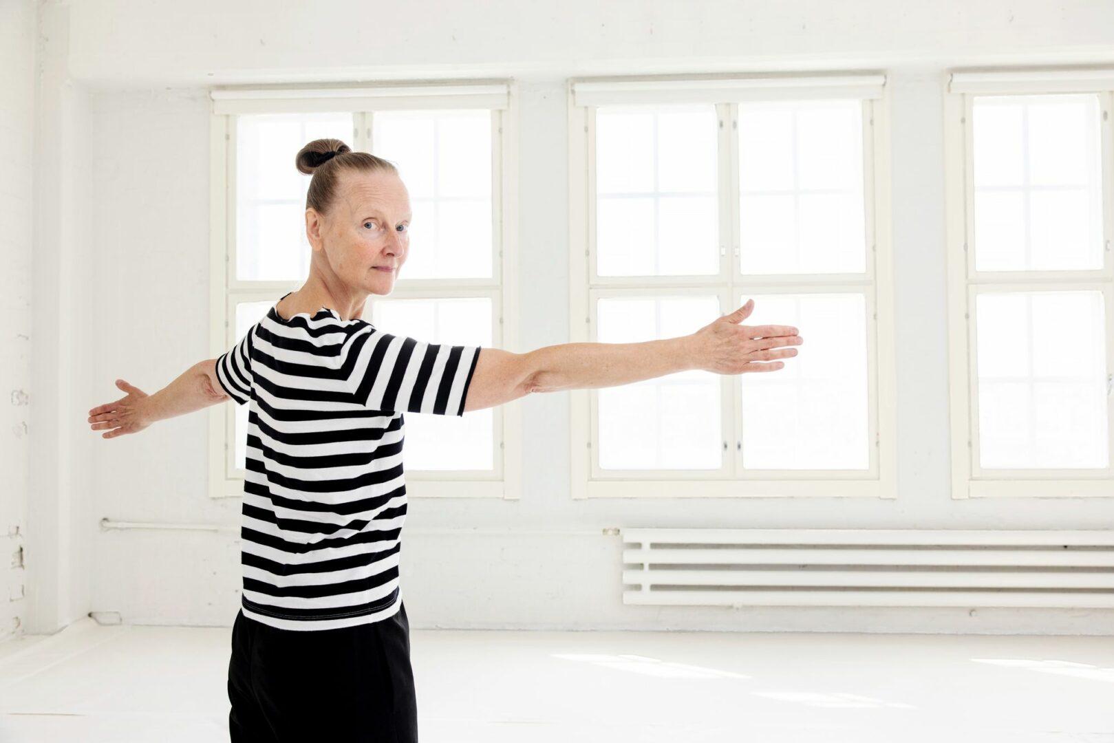 Tanssija Sanna Kekäläinen