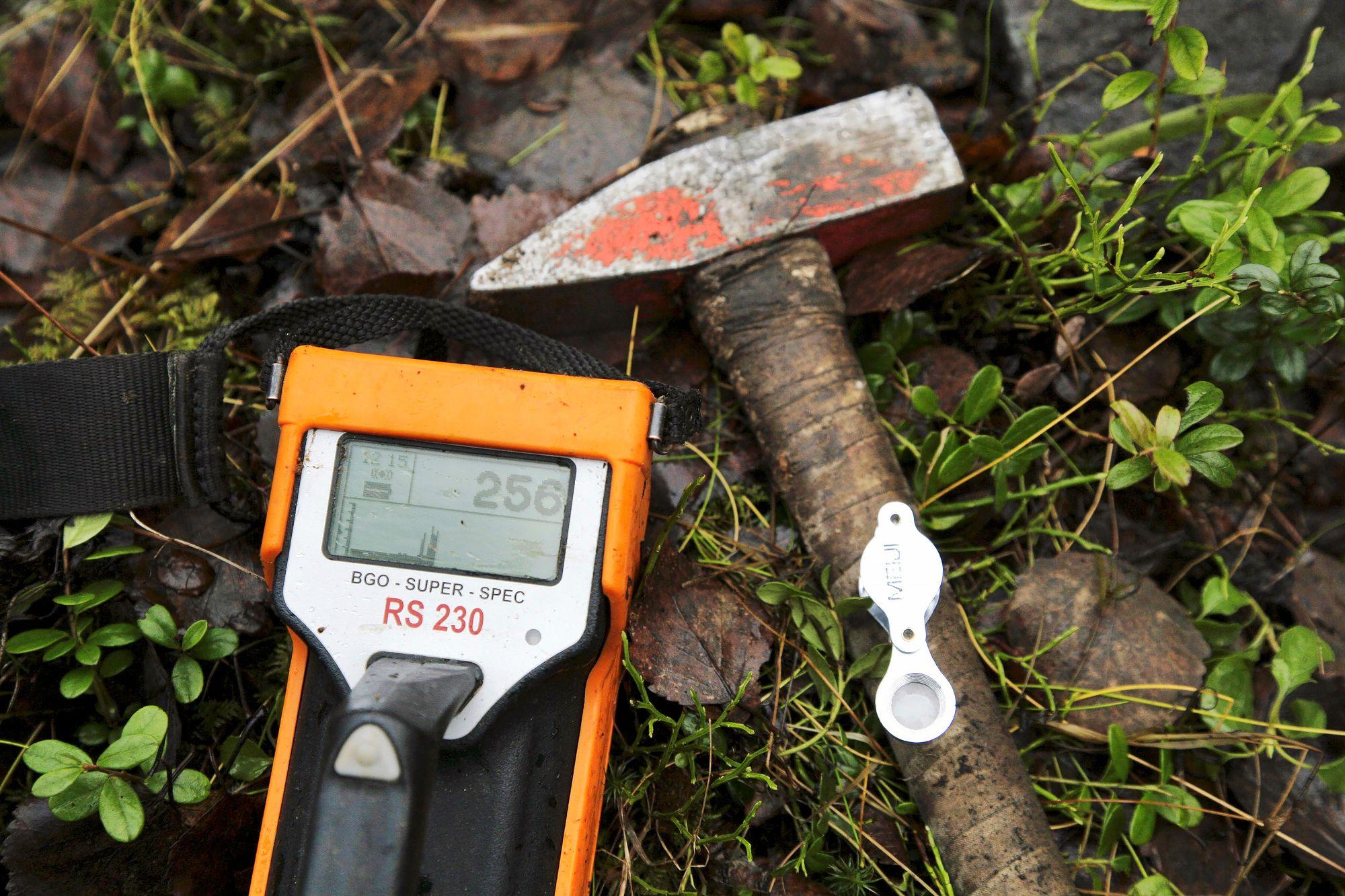 Malminetsintävarauksen saa helposti, varsinaisen etsintäluvan vähän monimutkaisemmin ja kaivoksen perustamiseen vaadittaviin lupiin yltää aniharva. © Lehtikuva