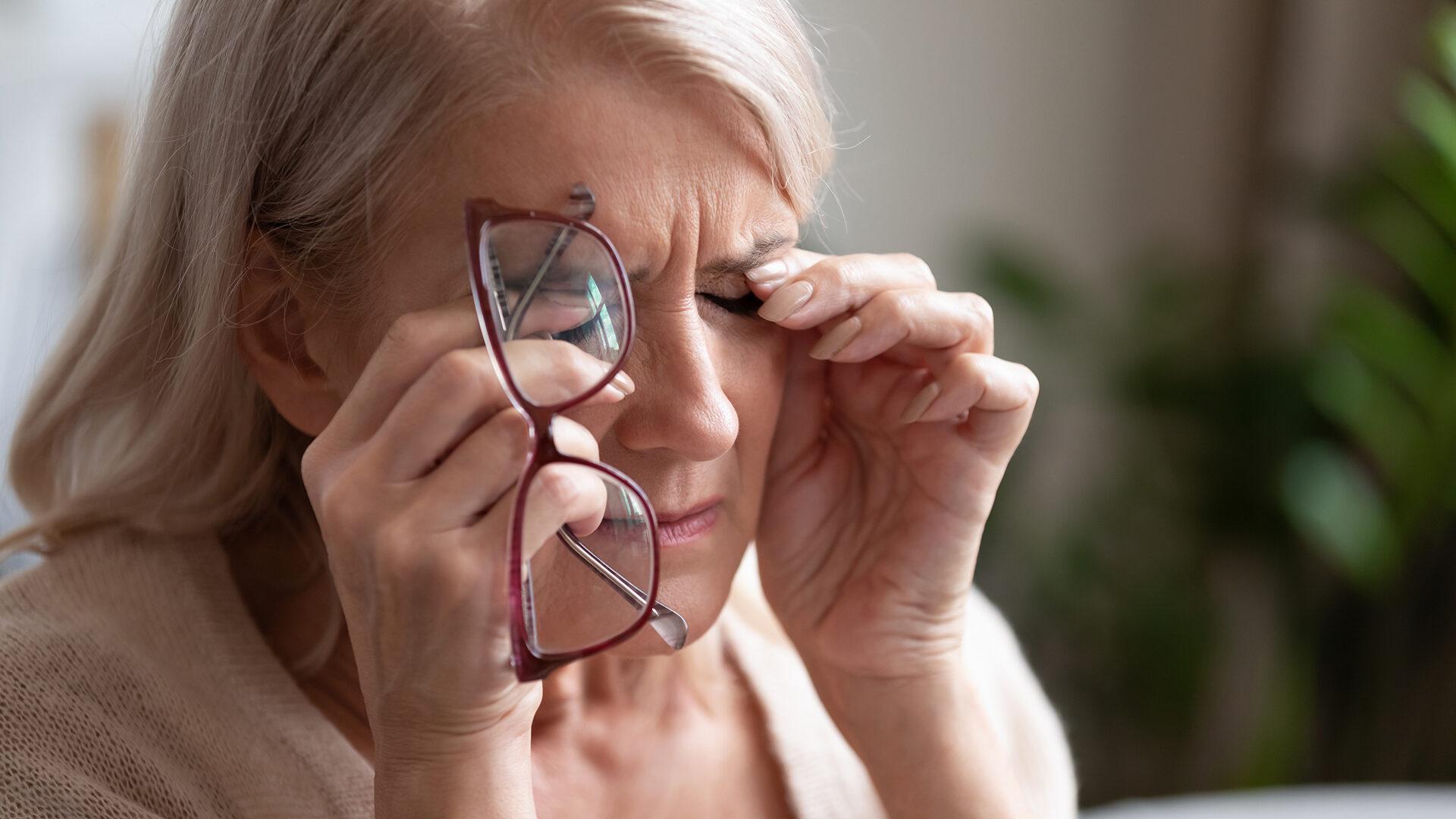 silmien kuivuus