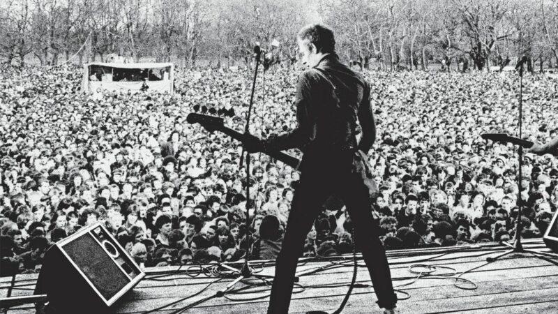 White Riot kertoo Britanniassa 1970-luvulla vaikuttaneen Rock Against Racism -liikkeen synnystä. © Syd Shelton / Smoking Bear Productions / Yle