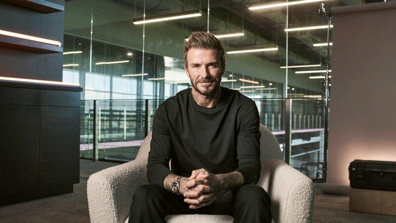 David Beckham © ALL3Media International Limited/Yle