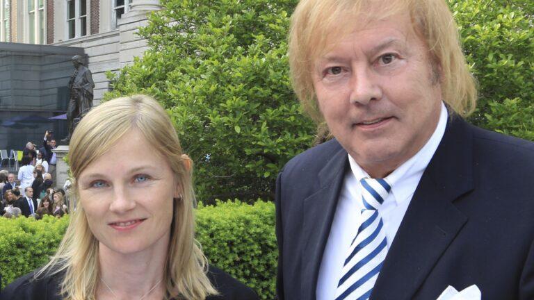 Heidi Lipsanen isänsä Dannyn kanssa.