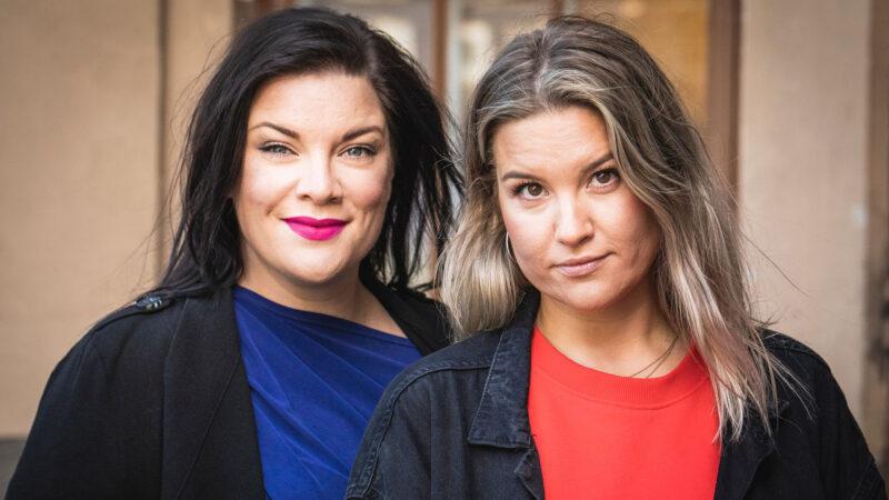 Hanna Pakarinen ja Kristiina Wheeler