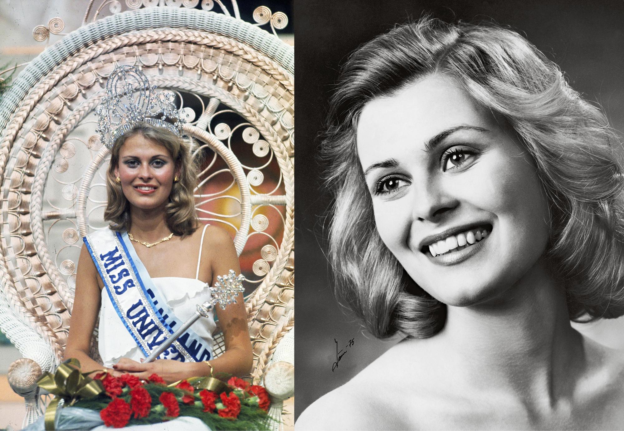 Mikä kaunotar! Anne Pohtamo voitti Miss Universum -kilpailun vuonna 1975.