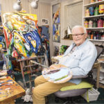 Sairaalareissun jälkeen Dahl päätti ryhtyä taiteilijaksi. Hän maalaa edelleenkin joka päivä.