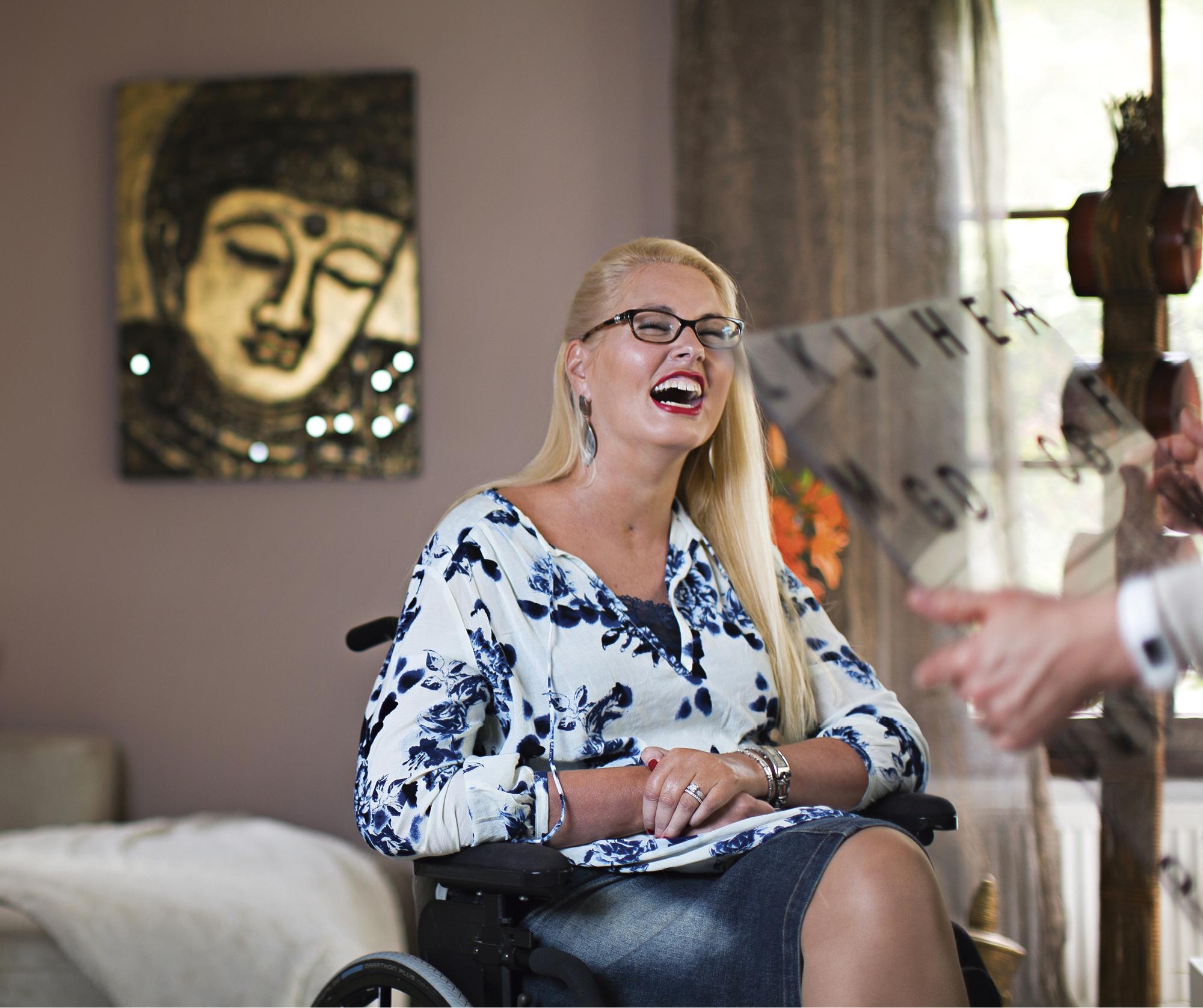 Kati Lepistö-van der Hoeven teki mallintöitä ennen aivoinfarktia.